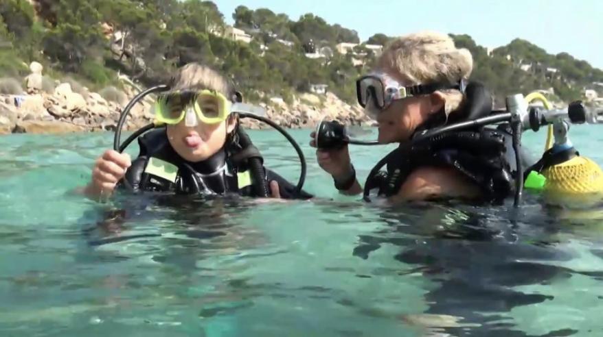Bautizo de buceo en ZOEA Mallorca