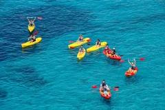 excursion de kayaks