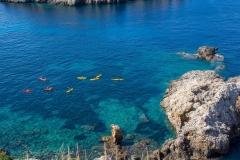 kayaking majorca