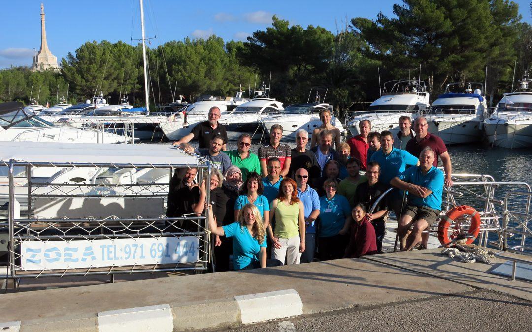 Seminario de Medicina Subacuática en ZOEA Mallorca.