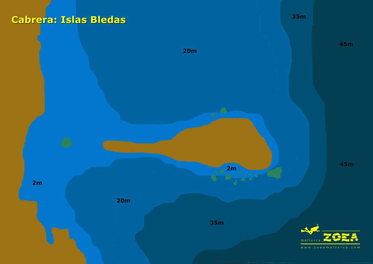 isla bledas