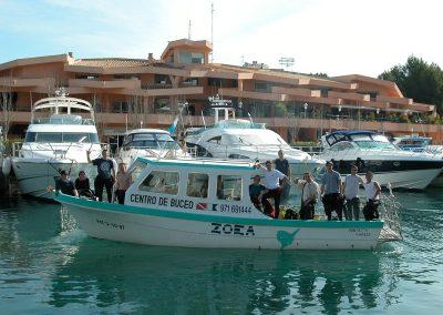 Diving Tauchen Zoeamallorca Boats0002 1 400x284